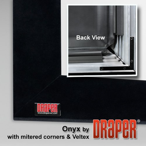 Draper 253773 Onyx 193 diag. (95x169) - HDTV [16:9] - Matt White XT1000V 1.0 Gain (193 Matt)