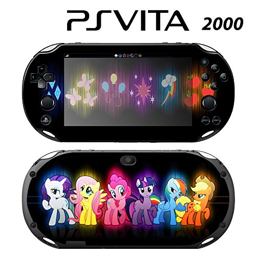 Decorative Video Game Skin Decal Cover Sticker for Sony PlayStation PS Vita Slim (PCH-2000) - My Little Pony Friendship is Magic Princess -  Decals Plus, PV2-CT07A