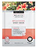 Freeman Beauty Infusion Mask Brightening Sheet (6 Pieces) Display