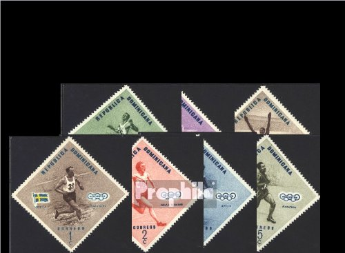 Dominican Republic 585A-592A (complete.issue.) unmounted mint / never hinged 1957 Olympics Summer (Stamps for collectors)