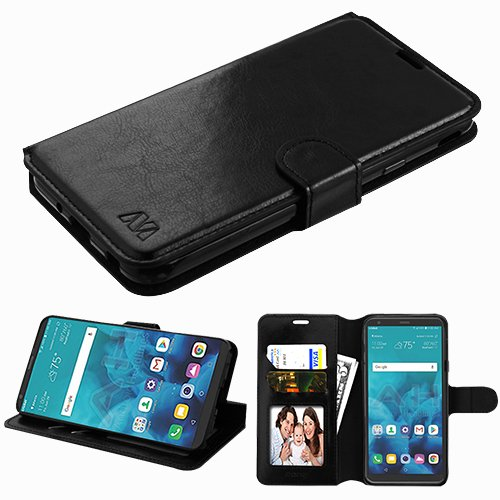 Wydan Case Compatible for LG Stylo 4, Stylo 4 Plus - Credit Card Wallet Flip Style Case Kickstand Protective Hybrid Cover