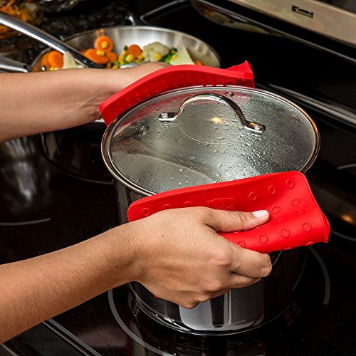 Premium-Silicone-Trivet-Mats-Hot-Pads-Pot-Holders-Spoon-Rest-Jar-Opener-Coasters-Our-5-in-1-Kitchen-Tool-is-Heat-Resistant-to-442-F-Thick-Flexible-7-x-7-Set-of-2