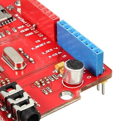 NEW MP3 Music VS1053B Shield Board With TF Card Slot Work For Arduino For UNO MEGA Kul-Kul