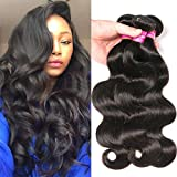 Human Hair Brazilian Body Wave Virgin Hair 3 Bundles 8A 100% Unprocessed Virgin