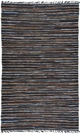 Matador Leather Chindi Round Rug, 6 by 6-Feet, Brown Review