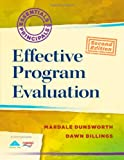 img - for Effective Program Evaluation (2nd Edition) (Essentials of Principals) book / textbook / text book