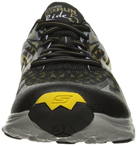 SkechersGo Run Ride 5 - Zapatillas de running hombre Negro (BKYL)