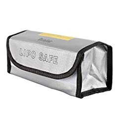 Features: • This flame retardant bag is a convenient way of safeguarding your LiPo batteries during charging, transit, and storage.  • It is large enough to place multiple batteries at once• For safer charging and storage of batteries  • Fire...