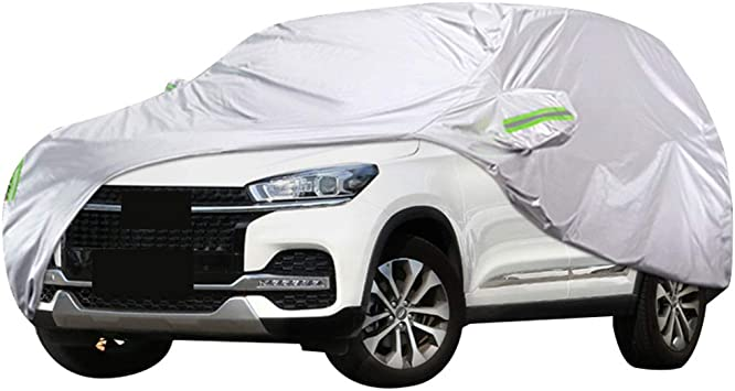 HEAVYDUTY FULLY WATERPROOF CAR COVER COTTON LINED VW TOUAREG 09+