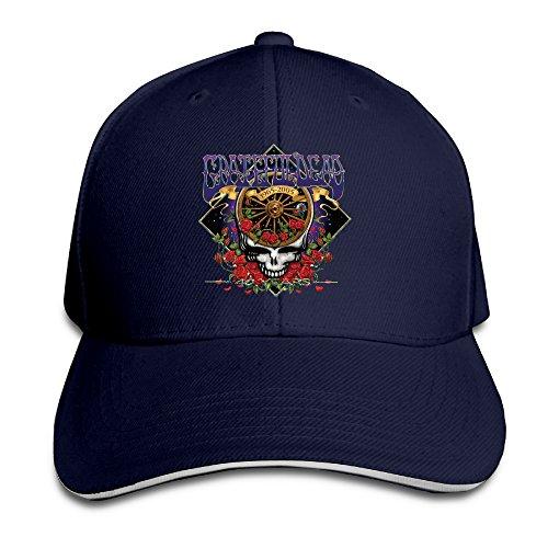 Grateful Dead Visor - Fare Thee Well Grateful Dead Albums Steal Your Face Adjustable Unisex Hats Visor Hats Sanwich Bill Caps