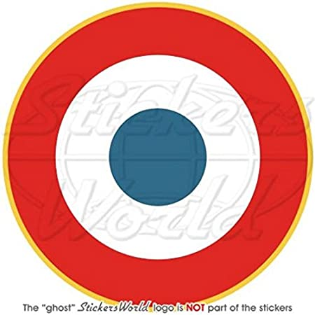 FRANCE Marine Aviation Navale Cocarde 100mm Autocollant Sticker Decal Stickers