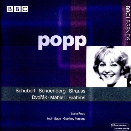 Works of Schubert Schoenberg Strauss Dvorak Mahler