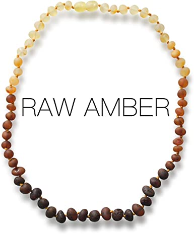 Baltic Amber Necklace and Bracelet Gift Set Certified Premium Quality Raw Baltic Amber Unisex Cherry