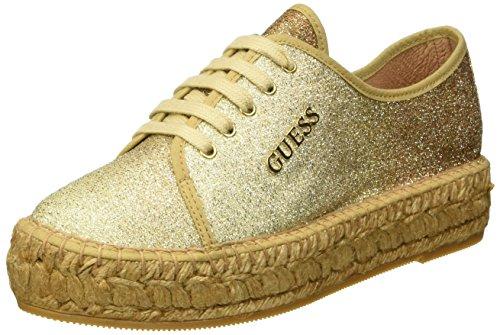 Basse Guess Sneaker Oro Fabric Donna Glitter qaBraxnP