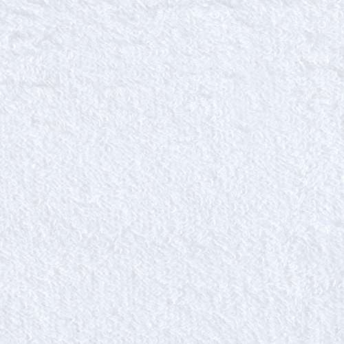 9 oz Comfort Cotton Terry Cloth White Fabric By The Yard