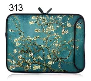 """15.6""""15"""" Laptop Sleeve Case Bag Pouch Neopreno Doble Cremallera Doble bolsillo lateral"""