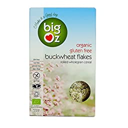 Big Oz - Organic & Gluten Free Buckwheat Flakes - 500g