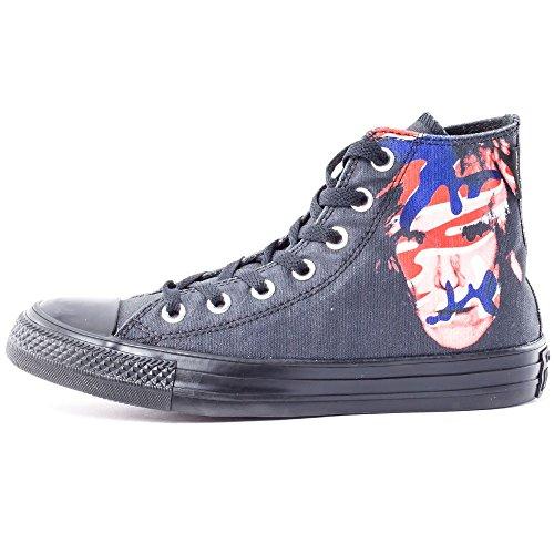 Converse Ct Warhol Hi Mens Scarpe Da Skateboard 149486c_5 - Nero / Rosso / Blu