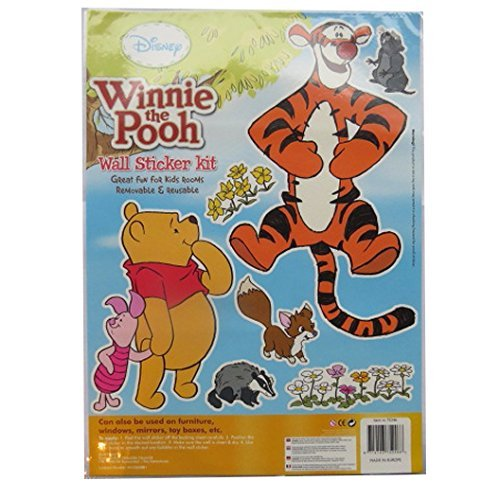 Large Wall Decoration Sticker Kit - Winnie the Pooh & Tigger - by Disney