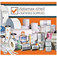 Datamax 423076 Polyester Label for M/I/H Class Printers, Thermal Transfer, Perforated, 3 Length x 1 Width, 3 Core, 8 OD, Not 5300 Labels per Roll