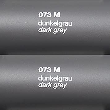 Hervorragend Rapid Teck® Matt Folie - 073 Dunkel Grau - Klebefolie - 5m x 63cm  PQ94