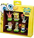 Penn Plax 6-Piece Spongebob Squarepants Mini Set