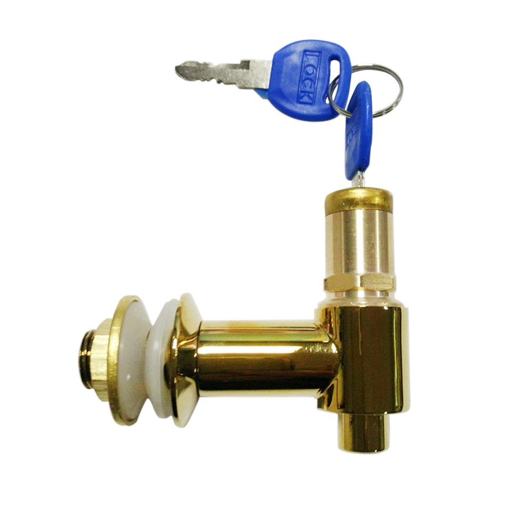 Homyl Wine Beer Tap Lock Beverage Juice Water Dispenser Beer Faucet Lock With Key