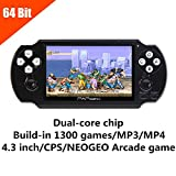 Best SEGA Handheld Consoles - JXD 64Bit Handheld Game Console 4.1 Inch Mp5 Review