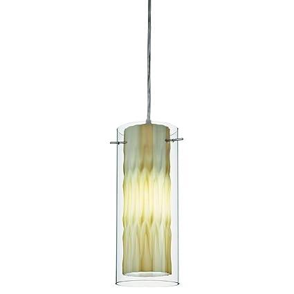 Lithonia Lighting 11990 GG M4 1 Lamp 13W Compact Fluorescent Pendant ...