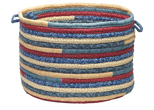 (Colonial Mills Quilter's Choice Utility Basket, 14 by 10-Inch, Denim)