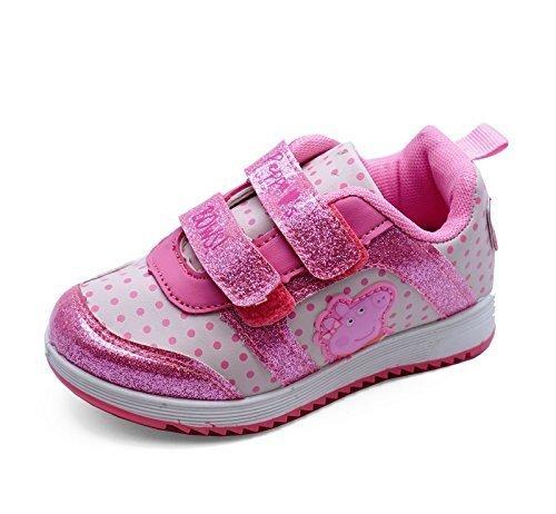 NIÑA PEPPA PIG INFANTIL Formadores De Color Rosa Bonito Zapatillas Planas Bonito Zapatos de Bebé Tallas 5-10 - Rosa, 24 EU: Amazon.es: Zapatos y ...