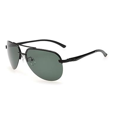 04fe6bd1019 Men s Polarized Sunglasses HD frameless frog mirror Driving glasses Driver  glasses Fishing