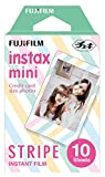 Fujifilm Instax Mini Stripe Instant Film (Multi-Color)