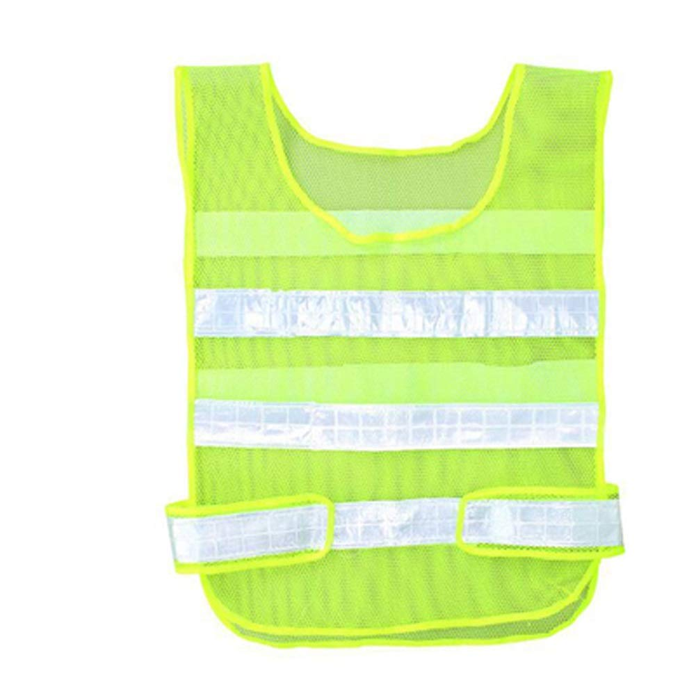 RYYAIYL Reflective Vest 360 / Be Seen from All Angles While Running, Walking Jogging, Cycling, Horseback Ridding & On A Motorcycle, High Visibility with Full Reflective Surface Area (Color : Orange)