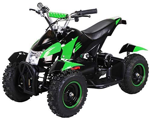 Actionbikes Motors Mini Kinder Elektro Quad ATV Cobra 800 Watt 36 V Pocket Quad – Original Saftey Touch – Kinder E Bike…