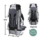 Yitrust Huge Internal Frame Backpack Bag for Hiking Camping...