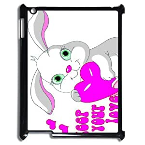 YCHZH Phone case Of Cute Cartoon Rabbit Cover Case For IPad 2,3,4