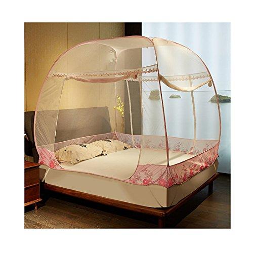 [해외]Hengfey Foldable 모기장 침대 캐노피 그물 곤충 버그 보호 ...