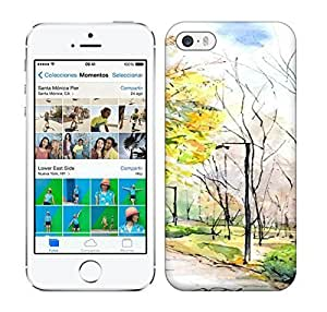 Best Power(Tm) HD Colorful Painted Watercolor Printer Full Of Quite Hard For Ipod Touch 4 Phone Case Cover