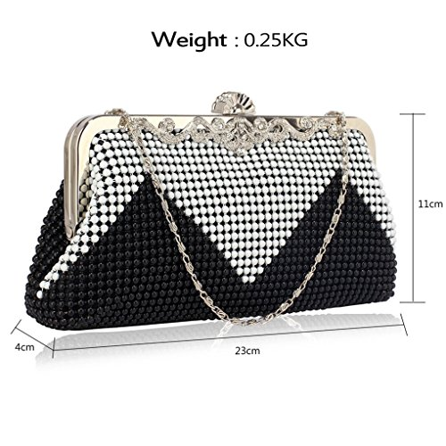Bags CWE00139 Evening Women's Bag CWE0047 Purse Handbags CWE0047 Clutch Bridesmaid Small Bridal's Ivory Designer q0wrxvpwtF