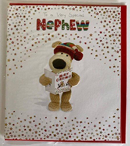 Boofle Special Nephew New Christmas Greeting Card (Christmas Boofle)