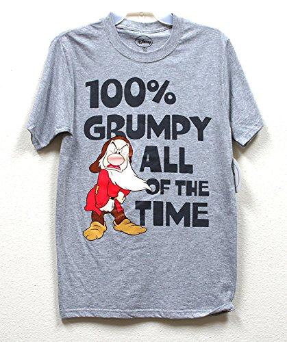 Disney 100% Grumpy Adult Tshirt