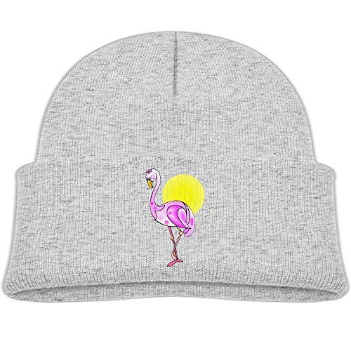 Wildlife Flamingo Sun Beanie Caps Skull Hat -