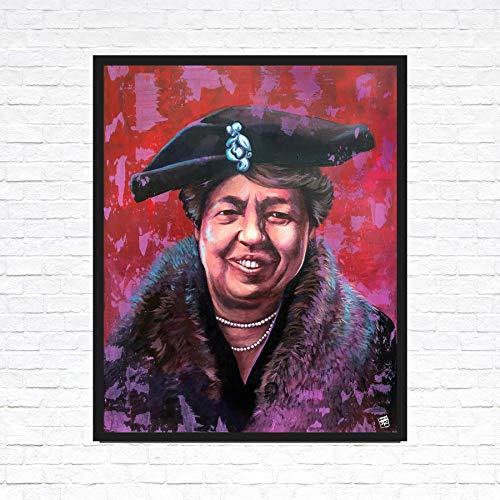Eleanor Roosevelt Portrait Painting - Fine Art Print - Unframed (Roosevelt Portrait)