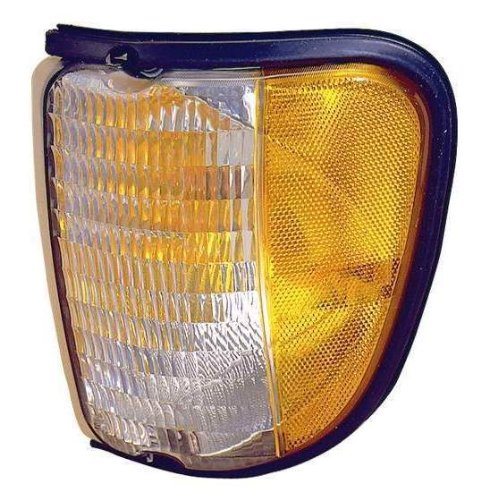 (Depo 331-1532L-US Ford Econoline Driver Side Replacement Parking/Side Marker Lamp Unit)