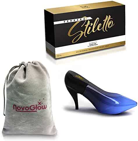 Ferrera Stiletto by Mirage Brand Fragrances 3.4 oz Inspired by GOOD GIRL BY CAROLINA HERRERA FOR WOMEN With A NovoGlow Pouch Included