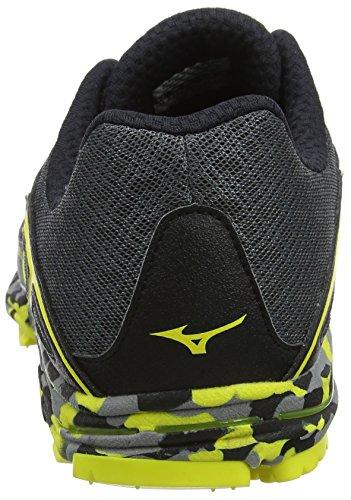 Homme Shadowboltblack Wave Mizuno Multicolore Hayate Chaussures Dark tAxxY1R