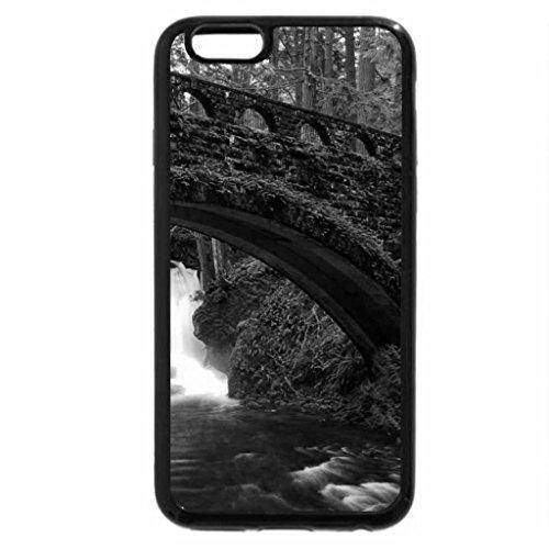 iPhone 6S Plus Case, iPhone 6 Plus Case (Black & White) - Whatcom Falls