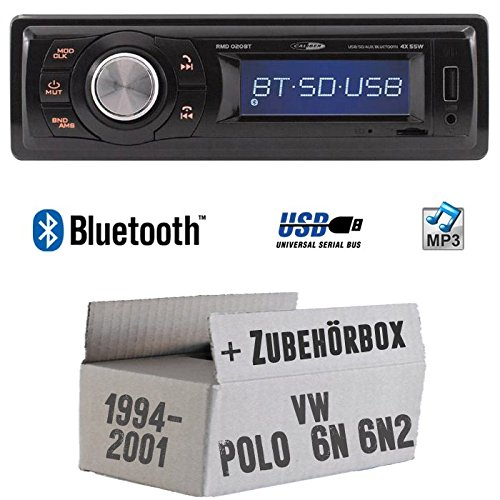VW Polo 6N + 6N2 - Autoradio Radio Caliber RMD020BT - Bluetooth | MP3 | USB | Einbauzubehö r - Einbauset JUST SOUND best choice for caraudio VWPo6N_RMD020BT