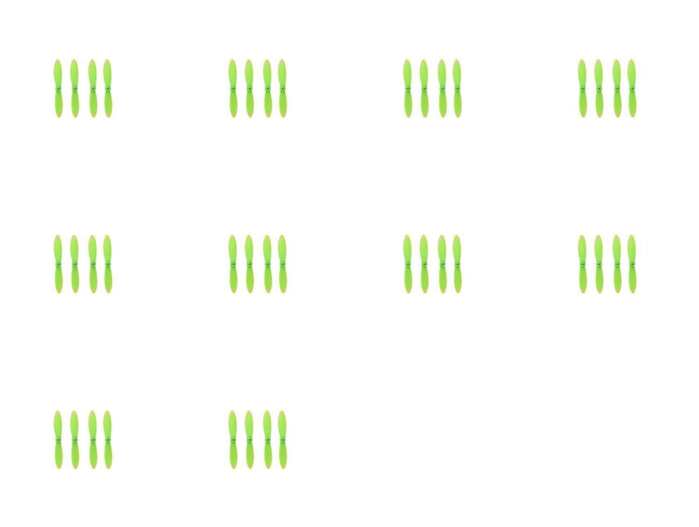 hasta un 60% de descuento 10 10 10 x Quantity of Estes Proto X SLT Nano All Green Nano Quadcopter Propeller blade Set 32mm Propellers Blades Props Quad Drone parts - FAST FROM Orlando, Florida USA  Envío 100% gratuito